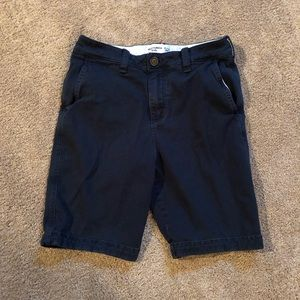 Abercrombie Kids Blue Flat Front Shorts - Boys